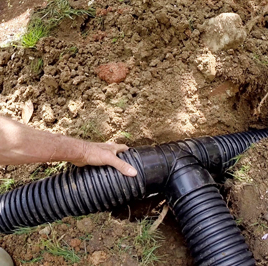 French Drain Installation